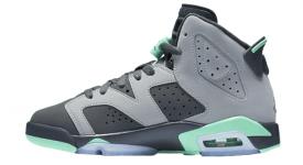 Nike Air Jordan 6 GS White Green
