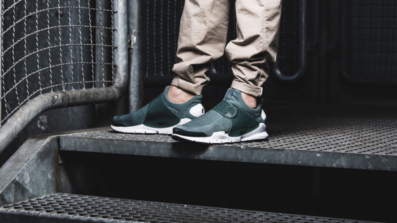 brand new 3f6a8 87f5f Nike Sock Dart Hasta and Black foot images | FastSole.co.uk
