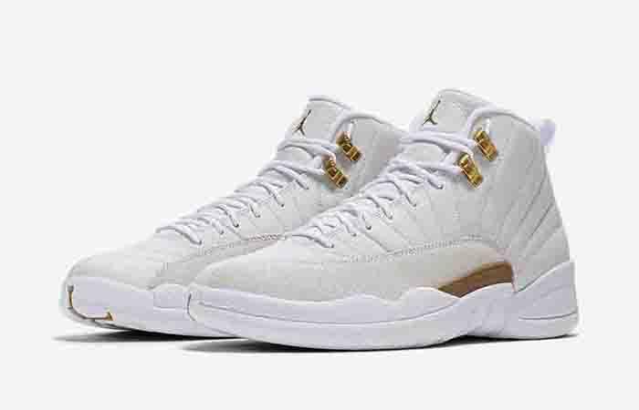 free shipping 34847 399e9 Nike Air Jordan 12 OVO White Gold