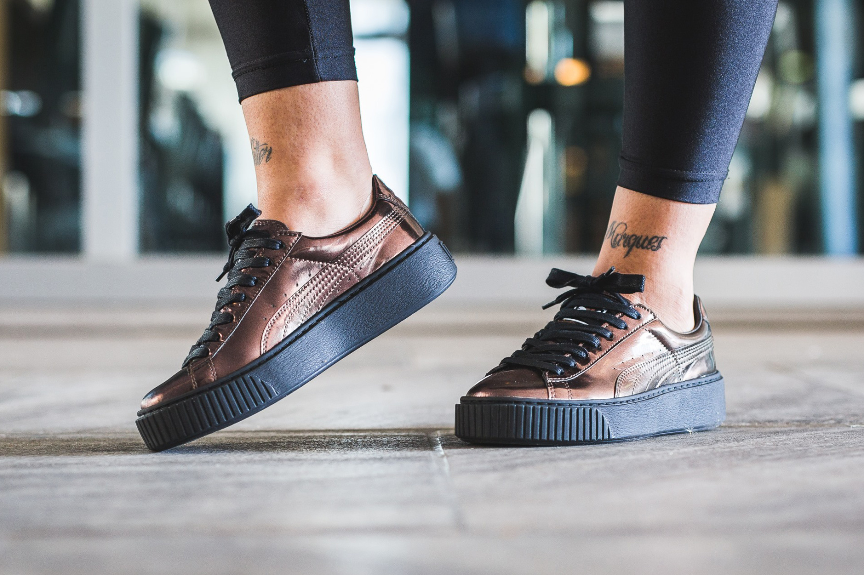 look PUMA Basket Platform Metallic Pack 03 - FastSole.co.uk