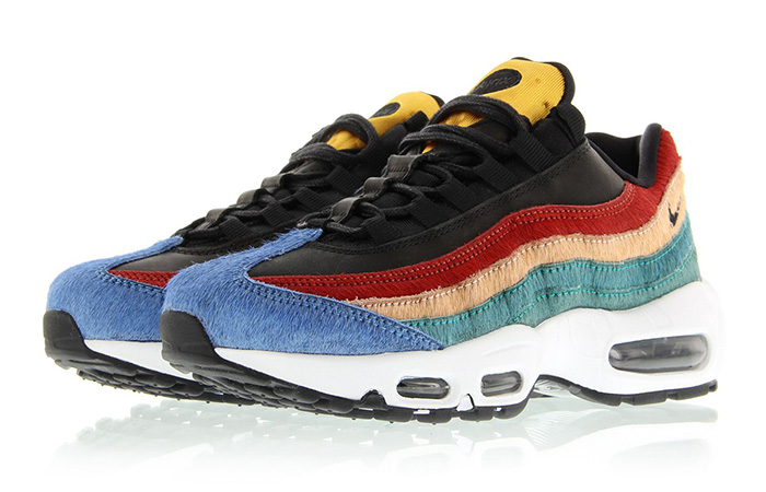 finest selection 69311 73d8a Nike Air Max 95 Multi Pony Fur Pack