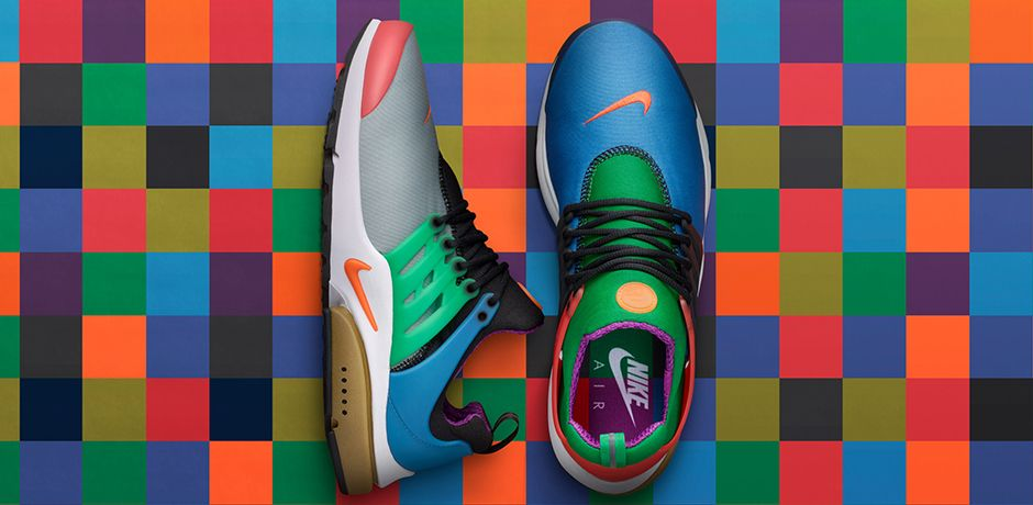 Nike Air Presto Greedy on Foot Shots