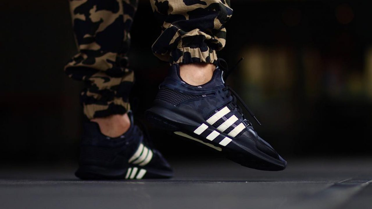 brand new 1c753 1959f Undefeated x adidas EQT Support ADV on foot – Fastsole