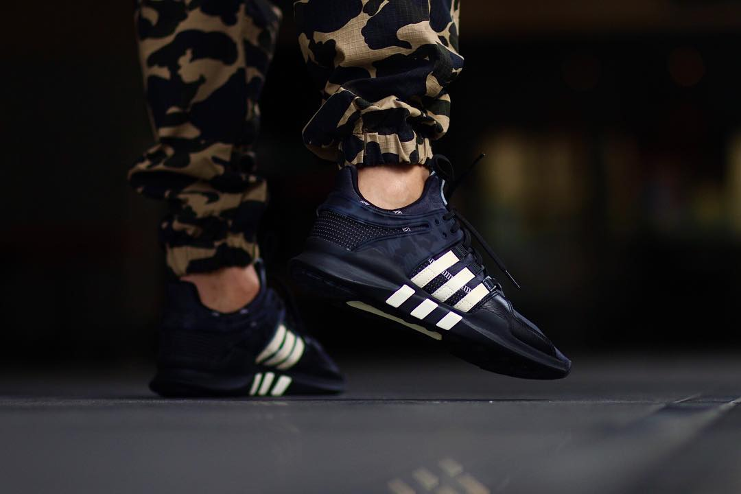 cca86f550ee9 Undefeated x adidas EQT Support ADV on foot – Fastsole