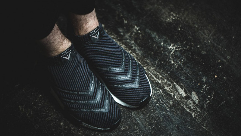 60791ec211b78 Official look at the adidas x White Mountaineering NMD CS1 Primeknit Black