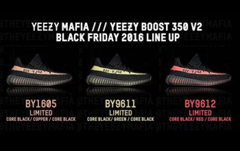 Yeezy 350 Boost V2 Friday Collection fastsole