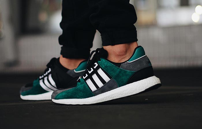 finest selection 52f42 c8d83 adidas EQT Support 93 16 Black Green