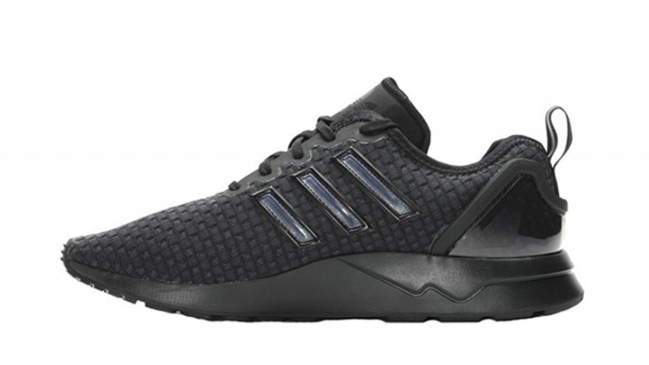buy popular fd5ec 624f3 adidas ZX Flux ADV Triple Black