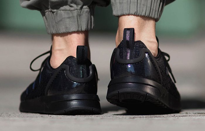 buy popular 62dd5 11ac6 adidas ZX Flux ADV Triple Black