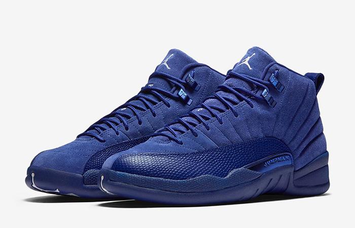 Air Jordan 12 Blue Suede 1