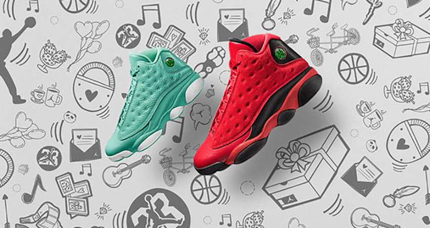 Nike Air Jordan 13 What is Love Pack Drops Next Month 5