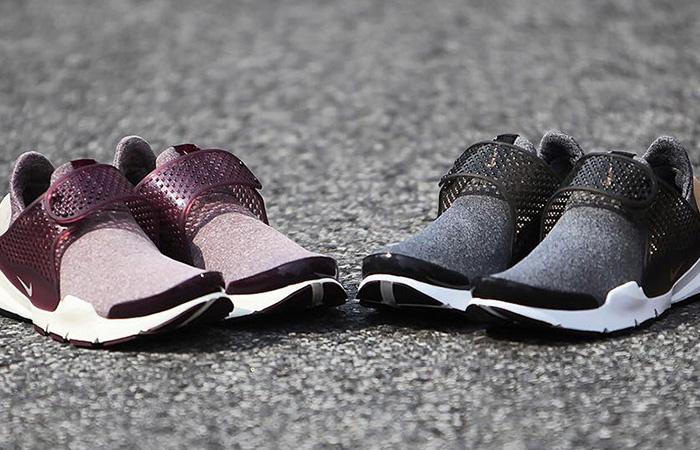 Nike Sock Dart Returns in Heathered Fleece 6