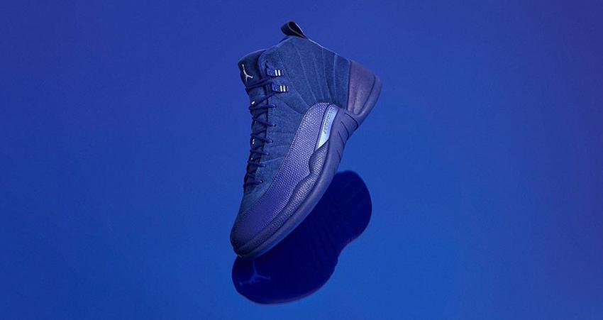 Closer look at Air Jordan 12 Royal Blue