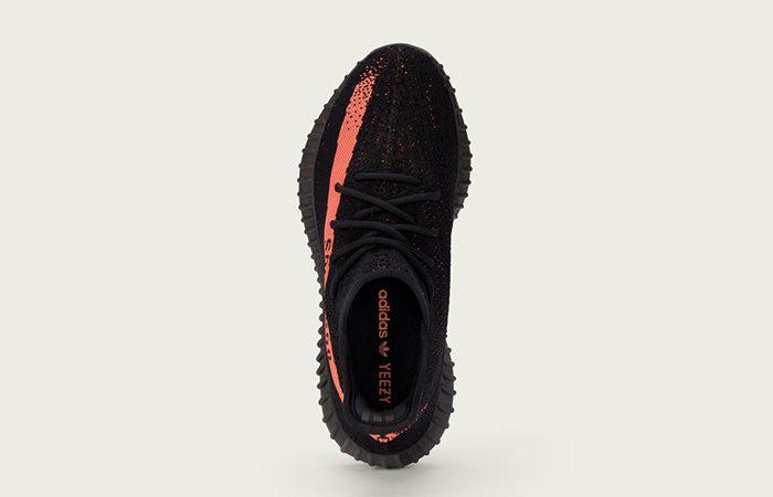 adidas Yeezy Boost 350 V2 Black Red 1