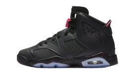 Air Jordan 6 GS Black Hyper Pink 543390-008