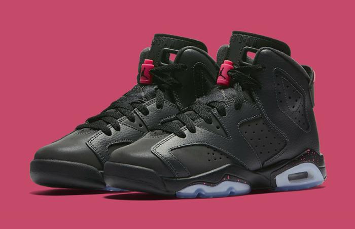 Air Jordan 6 GS Black Hyper Pink 543390-008 a
