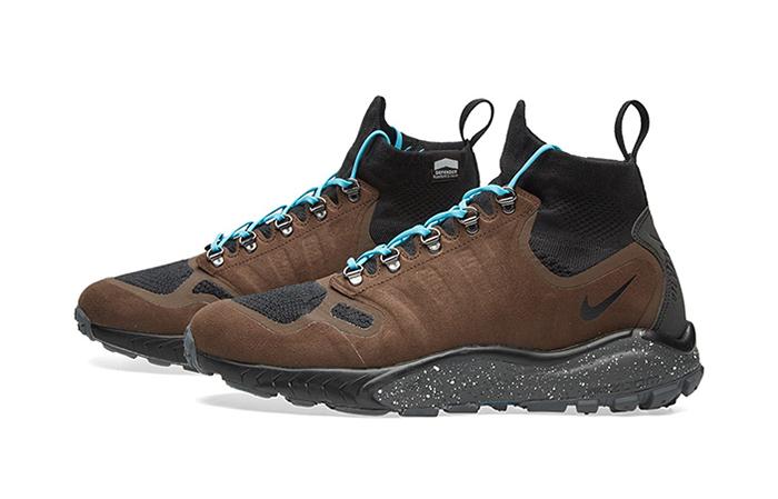 Nike Zoom Talaria Mid Flyknit Brown 856957-200