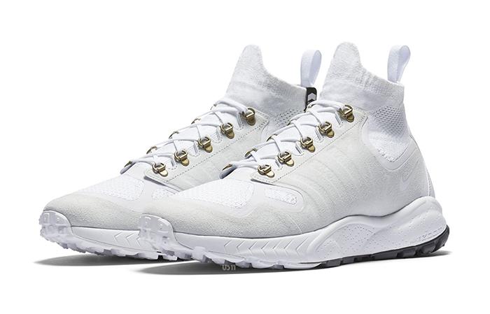 Nike Zoom Talaria Mid Flyknit White 856957-100