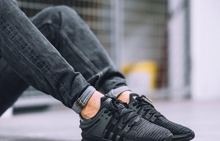 BUY Adidas EQT Support ADV Core Black Solid Grey