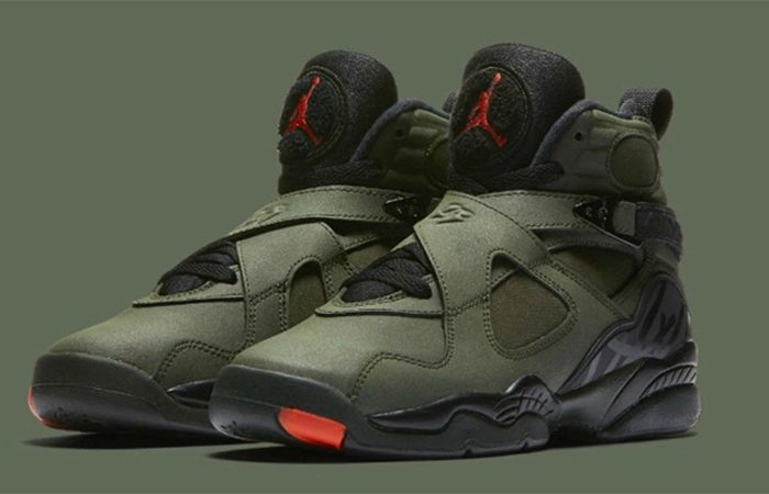 wholesale dealer 24694 fda8f Air Jordan 8 Undefeated Green Black