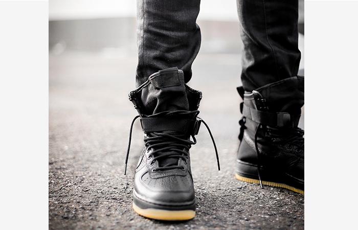 Force Black Gum Nike Air 1 Field Special trCshQd