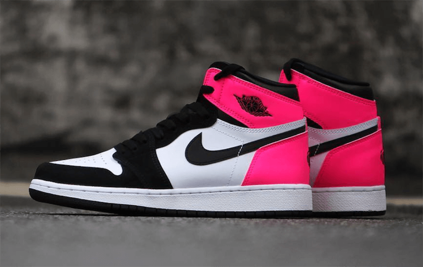 buy online abc44 9ab09 Nike Air Jordan 1 Valentine's Day Black Pink – Fastsole