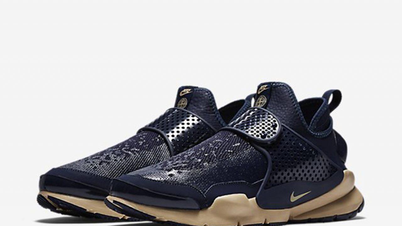 buy online 834db c3b19 Nike Sock Dart Mid x Stone Island Official Look – Fastsole