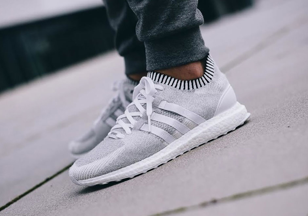 wholesale dealer 8a250 06c45 On Foot Look at adidas EQT Support Ultra Boost Primeknit White