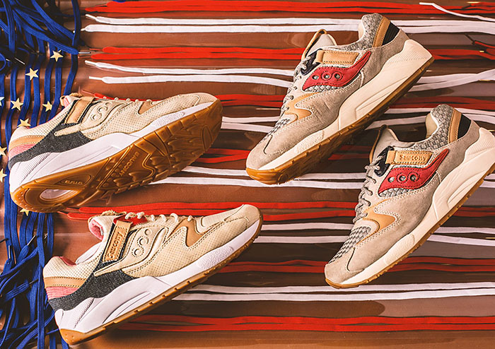 SAUCONY GRID 9000 LIBERTY PACK - FastSole