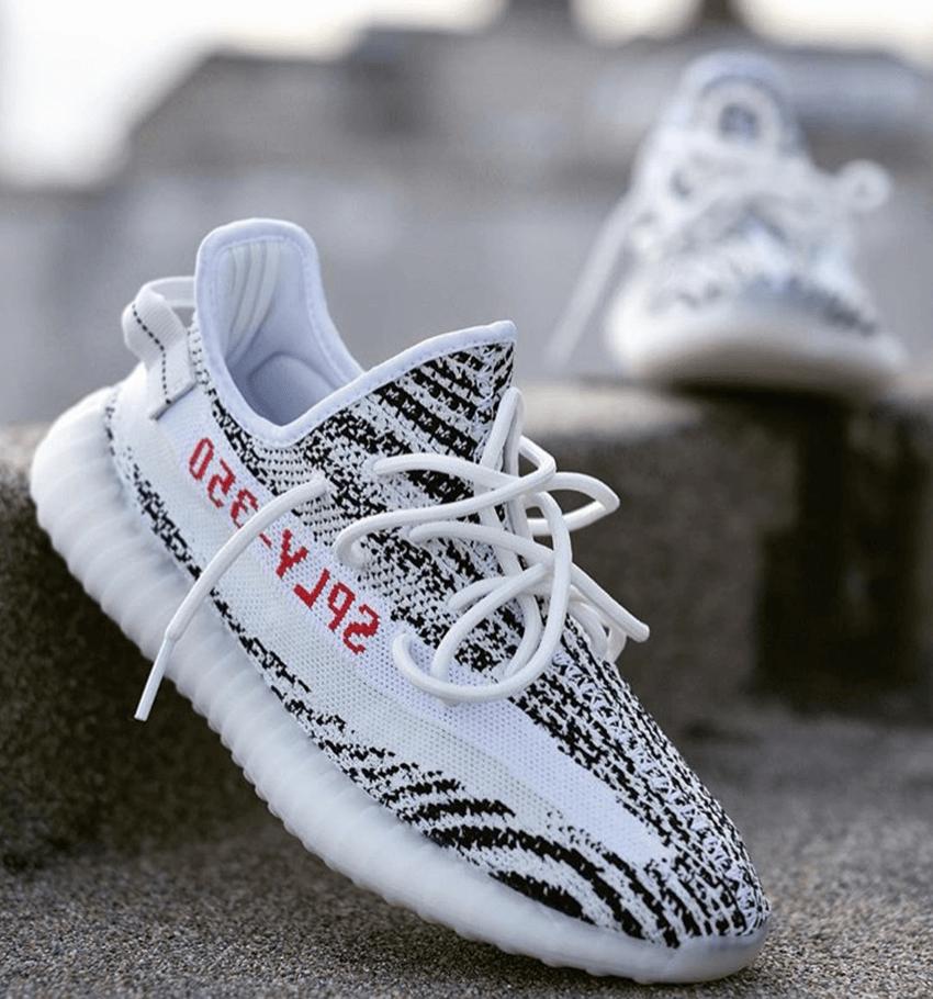 """adidas Originals Yeezy Boost 350 V2 """"Zebra""""  Young California"""
