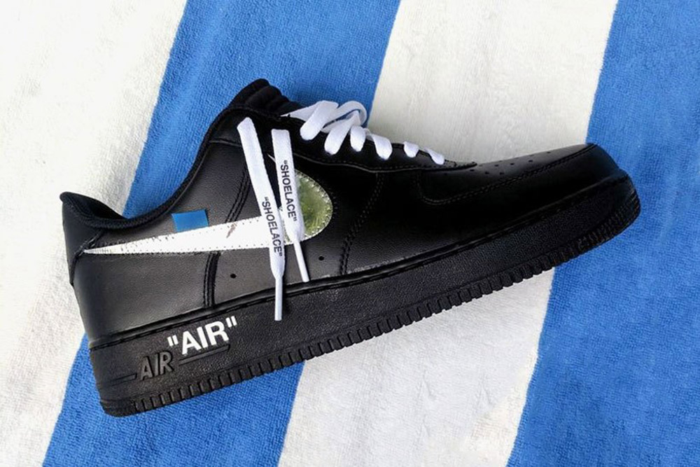 virgil abloh collaboration with nike in off white. Black Bedroom Furniture Sets. Home Design Ideas