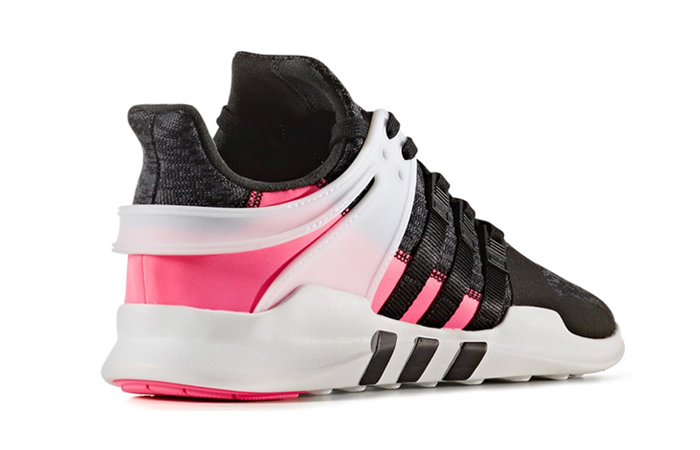 adidas eqt support adv 91 16 black pink white. Black Bedroom Furniture Sets. Home Design Ideas