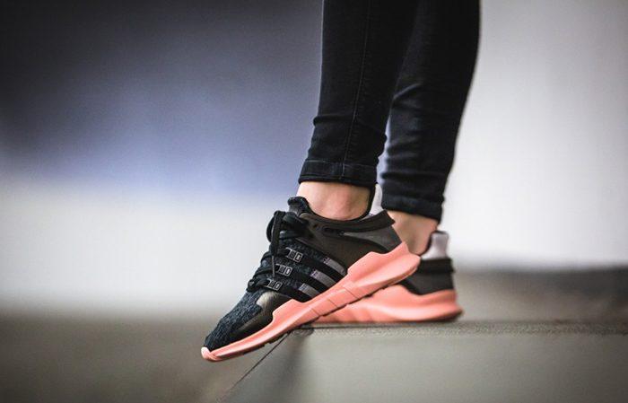 zniżki z fabryki nowe obrazy tanie jak barszcz adidas EQT Support ADV Black Pink Coral
