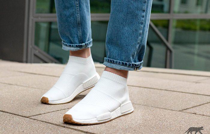 813014de5 adidas NMD CS1 White Gum BA7208 BA7209 Buy New Sneakers Trainers FOR Man  Women in UK ...