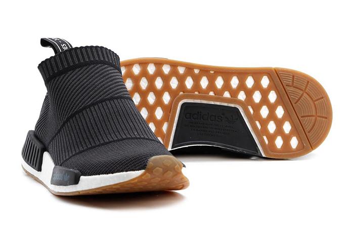 20be2c54b947 ... adidas NMD City Sock Black Gum BA7209 c ...
