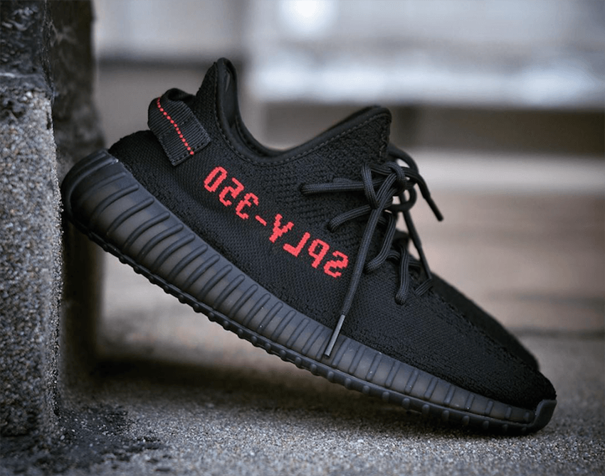 002ceb6ab55 The adidas Yeezy Boost 350 V2 Pirate Black features a very minimal yet  stylish appearance. The upper gets a premium woven Black primeknit coating.
