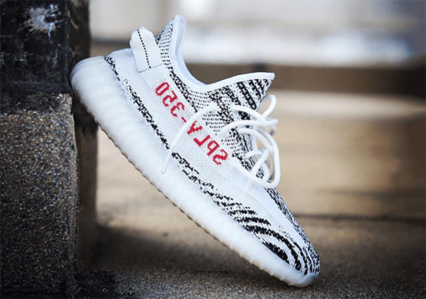 adidas Yeezy Boost 350 V2 White Red Zebra Confirmed 2