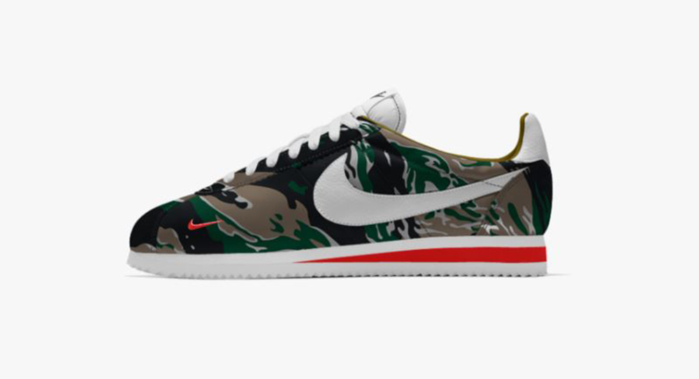online store 06d98 90f58 BAPE' Inspired Nike Cortez in Details – Fastsole