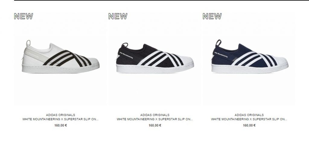 defd1e0caae5 White Mountaineering x adidas Superstar Slip BY2880 BY2879 slamjamsocialism