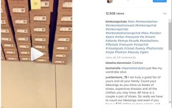 Kim Kardashian Shows Big Collection of Personal Yeezy Trainers