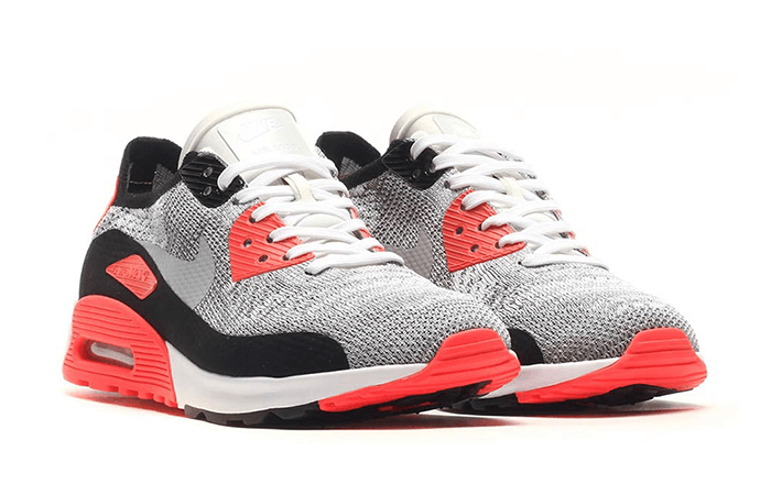buy popular 02e96 bbde5 Nike Air Max 90 Ultra 2 Flyknit Infrared
