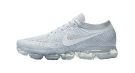 Nike Air VaporMax Flyknit Pure Platinum White