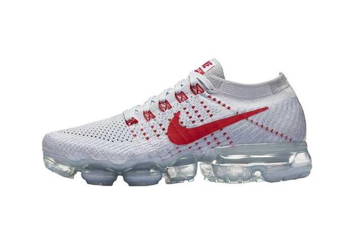 buy online e7574 f3965 Nike Air VaporMax Flyknit White Red