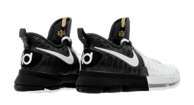 official photos 01542 bf793 Nike KD 9 Black History Month Black White