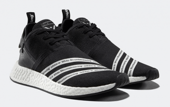 White Mountaineering x adidas NMD R2 Black White Official Look 4