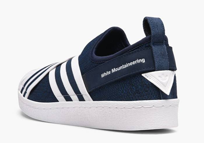 c9ad53cf4e33 Release information of White Mountaineering x adidas Superstar Slip-on Pack  – Fastsole