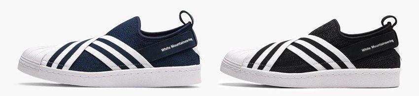 8514320aedaa Release information of White Mountaineering x adidas Superstar Slip ...