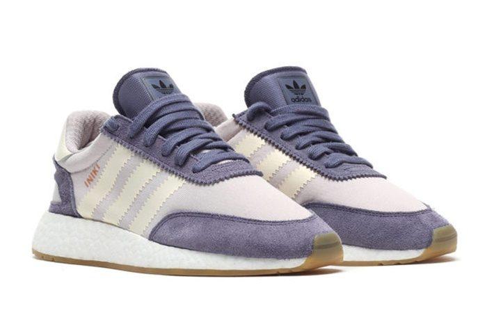 adidas Iniki Runner Boost Purple White
