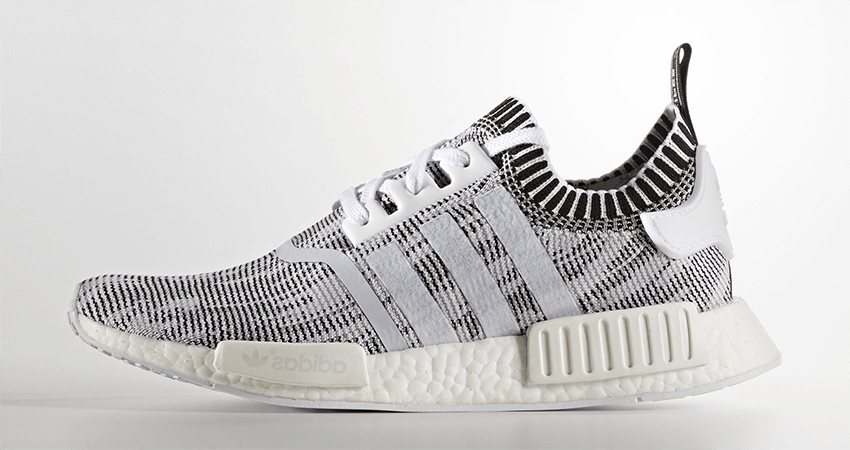 adidas Originals NMD R1 Talc Mesh Trainers 5 UK / 38 EU