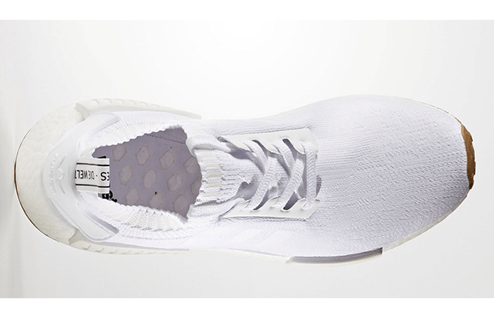 adidas NMD R1 White Gum BY1888 b